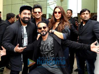 MTV Roadies Xtreme Auditions Neha Dhupia, Prince Narula, Ranvijay Singha and Nikhil Chinappa at auditions in Noida