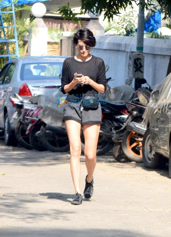 Mandana Karimi spotted in Bandra