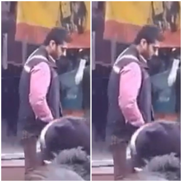 ON THE SET Arjun Kapoor shoots for Sandeep Aur Pinky Faraar on the streets of Pithoragarh