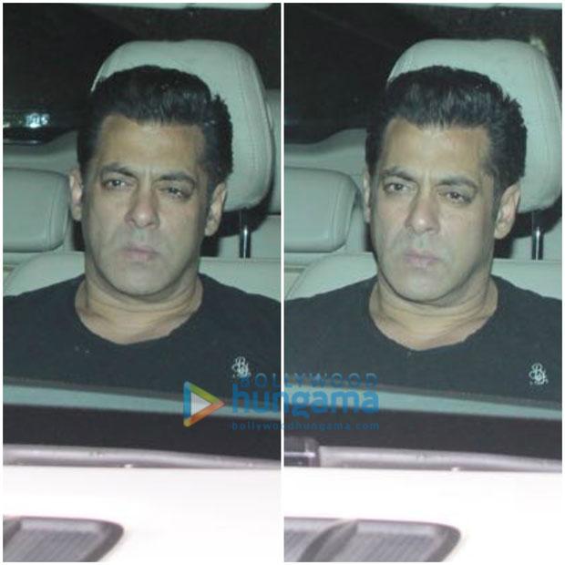 PHOTOS Putting rumours to rest, Akshay Kumar attends Salman Khan's screening of Tiger Zinda Hai (2)