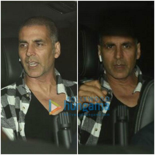 PHOTOS Putting rumours to rest, Akshay Kumar attends Salman Khan's screening of Tiger Zinda Hai (3)
