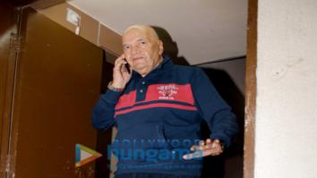 Prem Chopra spotted at PVR Juhu