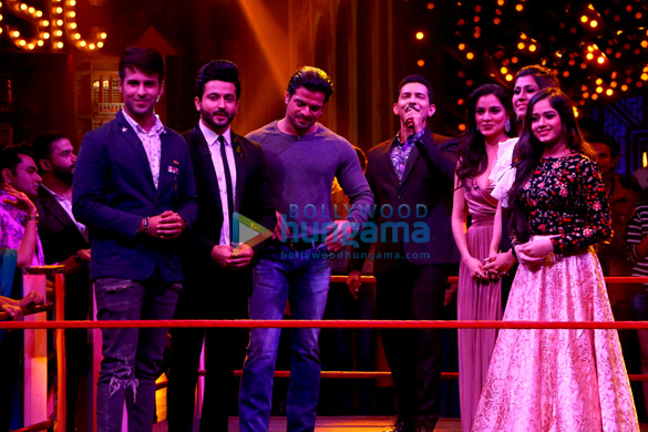 Ranjeet, Shakti Kapoor and other celebs shoot for 'Entertainment Ki Raat' villain special episode