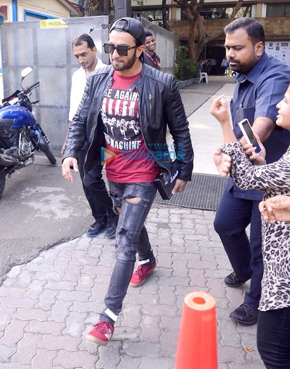 Ranveer Singh Snapped at Otters Club