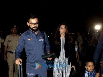 Ranveer Singh, Virat Kohli, Anushka Sharma and others snapped at the airport