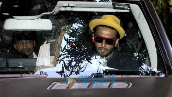 Ranveer Singh and Alia Bhatt spotted at Zoya Akhtar's office
