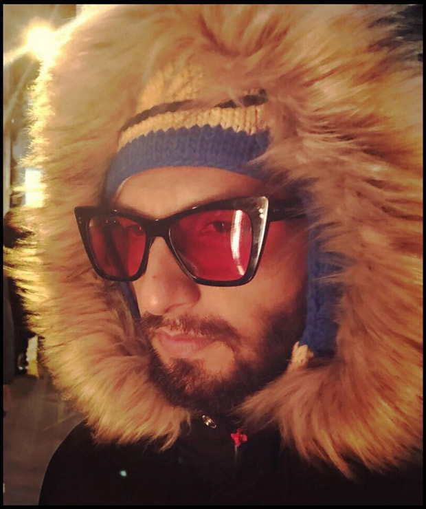 Ranveer Singh shares this picture from his London trip and his hoodie is definitely attracting attention