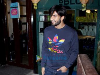 Ranveer Singh spotted outside BBLUNT