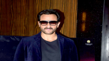 Saif Ali Khan snapped promoting his film Kaalakaandi
