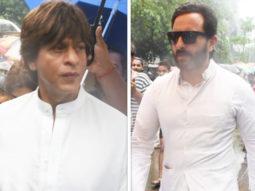 Shah Rukh Khan & Saif Ali Khan At Veteran actor Shashi Kapoor's funeral video
