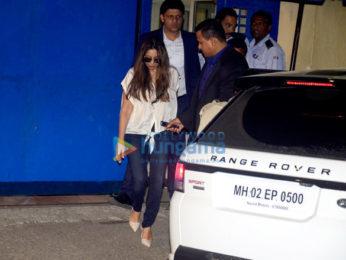 Shah Rukh Khan, Suhana Khan, Hrithik Roshan and others spotted at Dhirubhai Ambani International School