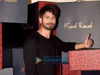 Shahid Kapoor at Kunal Rawal's store launch