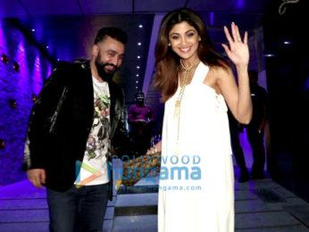 Shilpa Shetty and Raj Kundra snapped in Bandra