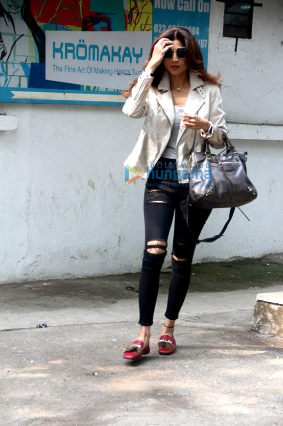 Shilpa Shetty snapped in Mumbai