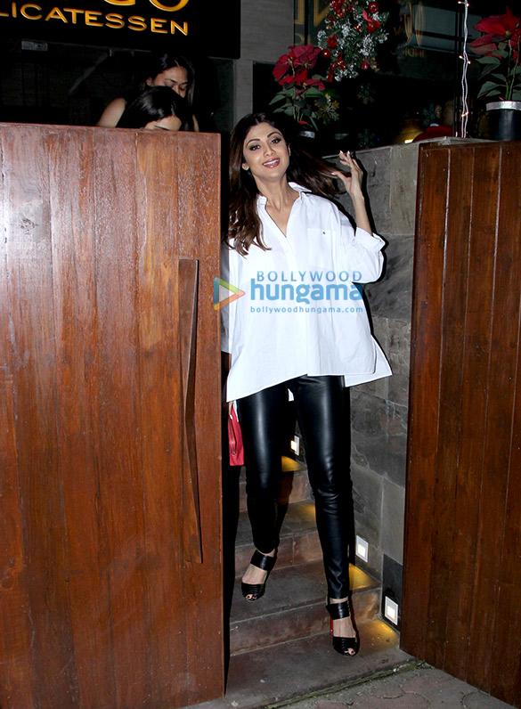 Shilpa Shetty Shilpa Shetty spotted at Indigospooted at Indigo