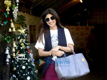 Shilpa Shetty spotted at IOSIS Wellness