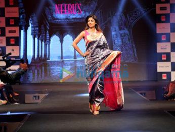 Shilpa Shetty walks the ramp for Neeru's