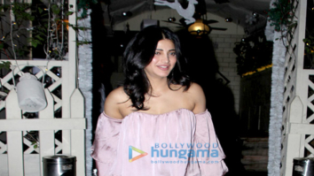 Shruti Haasan snapped at Smoke House Deli