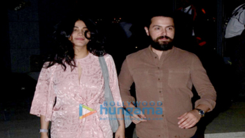 Shruti Haasan snapped with boyfriend at BKC