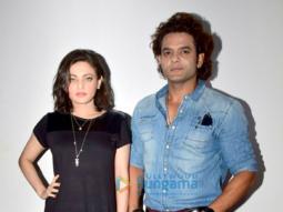 Sneha Ullal and Qaiz Khan promote the song 'Ishq Wali Baarish'