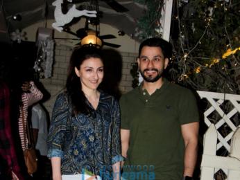 Soha Ali Khan and Kunal Khemu snapped at Smoke House Deli in Bandra