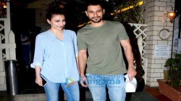 Soha Ali Khan and Kunal snapped post a dinner date