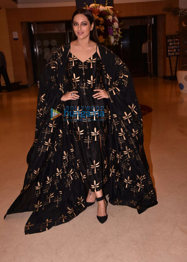 Sonakshi Sinha slays it in her black dress and o