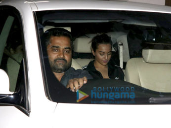 Sonakshi Sinha snapped at Sunny Super Sound
