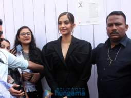 Sonam Kapoor at 'We The Women' session at Mehboob Studio