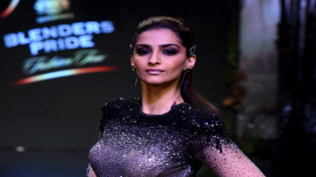 Sonam Kapoor walks the ramp for Tarun Tahiliani's at Blenders Pride Fashion Tour