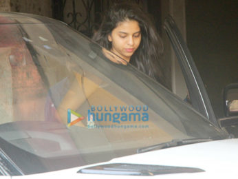 Suhana Khan snapped at the gym