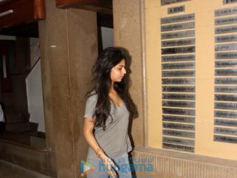 Suhana Khan snapped in Bandra