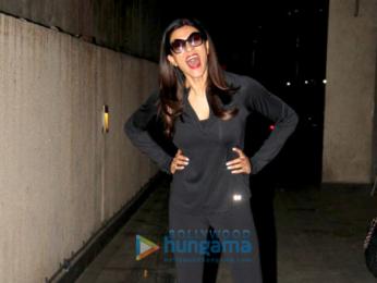 Sushmita Sen snapped at a clinic