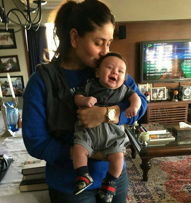 Taimur Turns 1 22 Times Taimur Ali Khan's cutest moments stole the limelight from his star parents! (3)