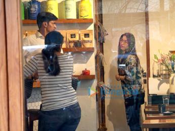 Tamannaah Bhatia snapped at Sequel Bistro & Juice Bar