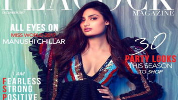 Athiya Shetty On The Cover Of The Peacock
