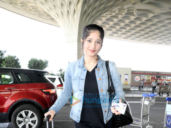 Varun Dhawan, Anu Malik and others snapped at the airport