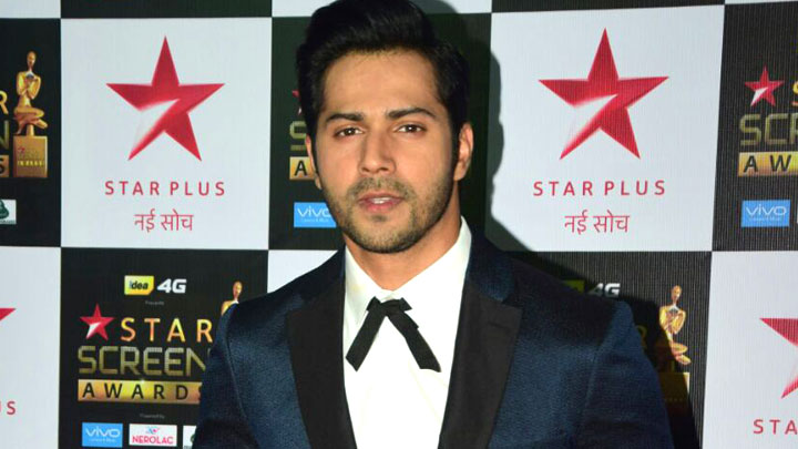 Varun Dhawan at the Red Carpet of Star Screen Awards 2017