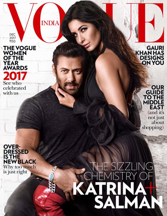 Salman Khan, Katrina Kaif On The Cover Of Vogue