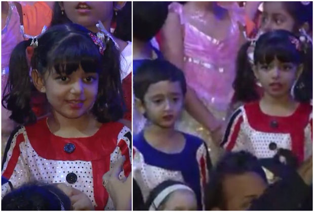 WATCH Aaradhya Bachchan nails her performance on her annual day; dances with Aamir Khan's Azad Rao Khan