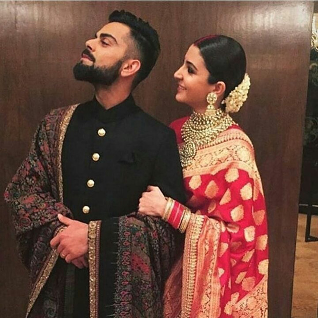 WATCH Anushka Sharma and Virat Kohli groove together on Gurdaas Maan's music at their Delhi reception (3)