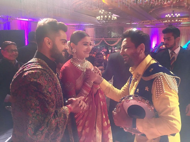WATCH Anushka Sharma and Virat Kohli groove together on Gurdaas Maan's music at their Delhi reception