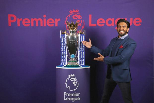 WOAH! Ranveer Singh appointed as ambassador for the Premier League (1)
