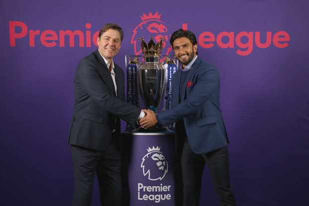 WOAH! Ranveer Singh appointed as ambassador for the Premier League (2)