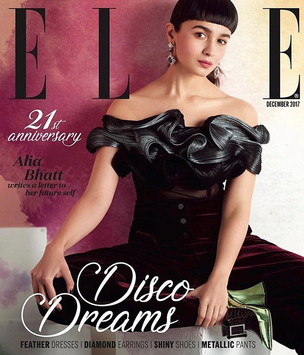 WOW! Alia Bhatt channels her inner disco diva with faux bangs and metallic look on Elle cover