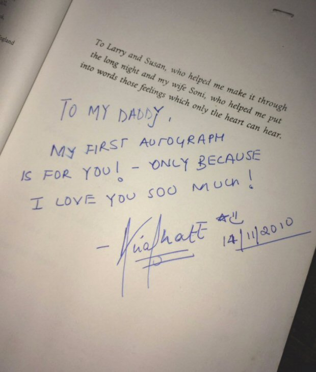 WOW! Mahesh Bhatt shares lovely picture of Alia Bhatt's first ever autograph