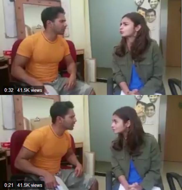 Watch Here's how Alia Bhatt and Varun Dhawan began pepping for Badrinath Ki Dulhania