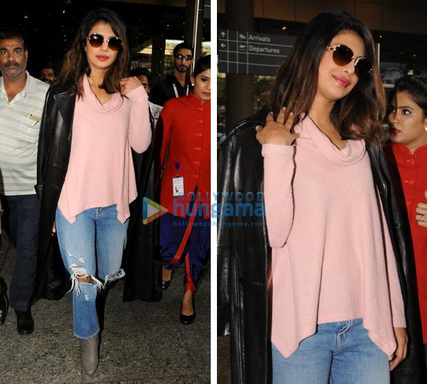 Weekly airport style Priyanka Chopra, Kareena Kapoor Khan, Ranveer Singh, Sonam Kapoor, Ranbir Kapoor give us some serious winter fashion goals!