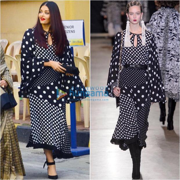 When Aishwarya Rai Bachchan's polka dot over indulgence left us overwhelmed!