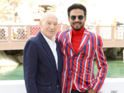 When Irrfan Khan meet the legendary Patrick Stewart